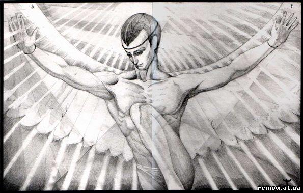 Танцующий Ангел Божий