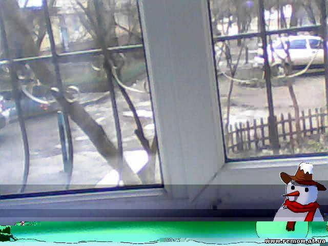 Мой дом с решётками на окнах