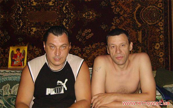 Анатолий Рэмов и Валера Сергиенко